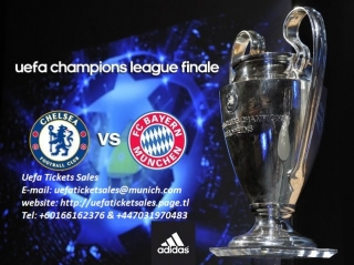 2012 UEFA Champions League Final Tickets ( CHELSEA vs BAYERN TICKETS FOR SALE )