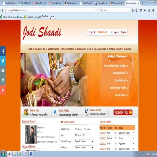 Top Matrimonial Site In India