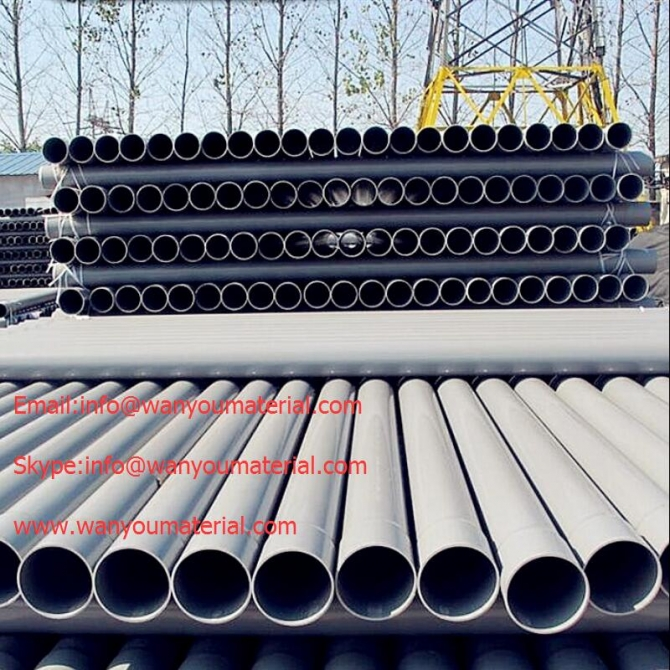 SELL USED FOR AGRICULTURAL IRRIGATION PVC-U PIPE - PLASTIC
