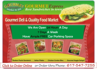 Gourmet Deli & Quality Food Market in Cambridge, Massachusetts