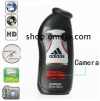 Adidas Mens Shower Gel Bathroom Spy Camera HD DVR Motion Detection Remote Control On/