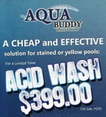 ACID WASH – Starting at $399.00