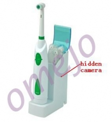 Motion Detection Spy Toothbrush Charging Set Hidden Bathroom Camera