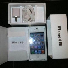 WTS New Apple iPhone 4S 64GB White Unlocked