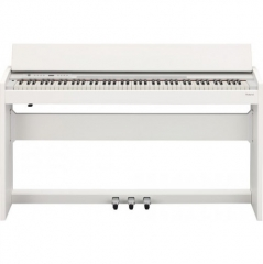 Roland F120 Digital Piano with Stand - White