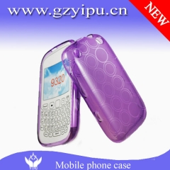Cellular circle vein waterproof TPU cover case