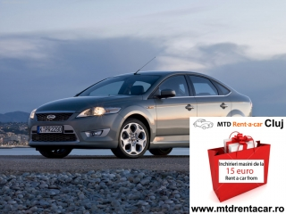 Cluj Car Renting Services - Ford Mondeo from 39€