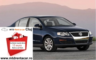 Rent a Car Cluj - VW Passat TDI de la 45€
