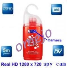 omejo Motion Detection 720P Shampoo Bottle Hidden Bathroom Spy Camera DVR 1280x7