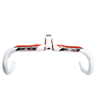 Ness Carbon Integrated Road Handlebar NI-XP28white