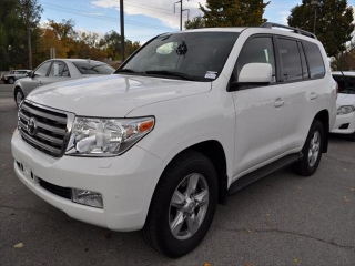 My Super white 2009 Toyota Land Cruiser 4 sale