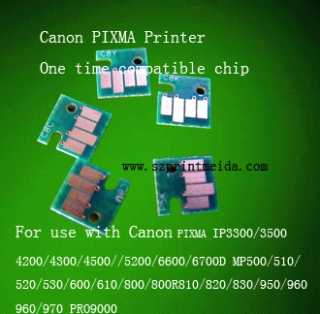 Canon compatible chip