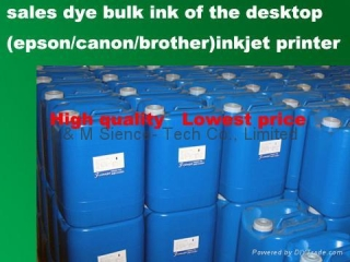 Sales dye bulk inks of epson/canon/brother desktop inkjet printer