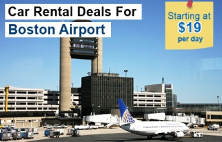 rent a Car at Boston Airport - Book in Advance  Save