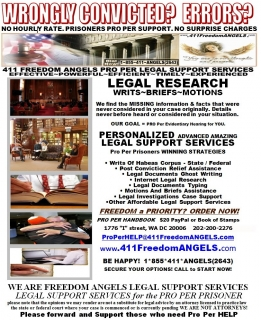 Inmates LEGAL Support SERVICES