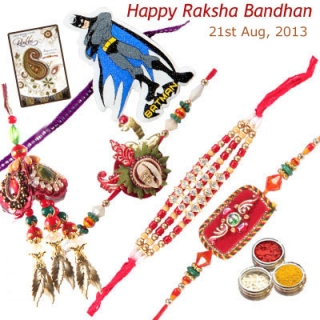 Send Rakhi to India with Rakhi Gifts for your loved ones from GujaratGifts