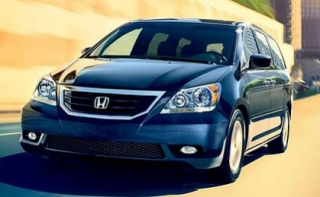 Cost Efficient Honda Odyssey Minivan On Rent