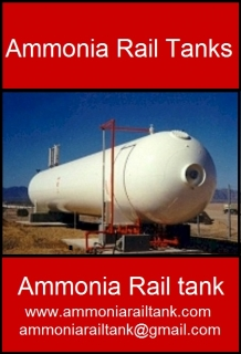 Ammonia Rail tanks