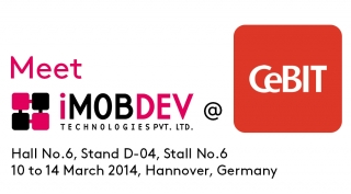Schedule a meeting with us at CeBIT 2014 and avail a free entry ticket.