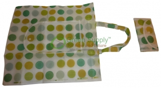 Green Supply Dot Collection Foldable Reusable Bags