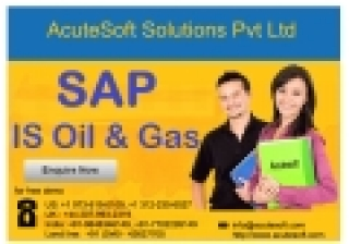 SAP IS OIL AND GAS TRAINING ONLINE