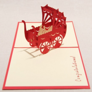 Bday 3d pop up greeting card