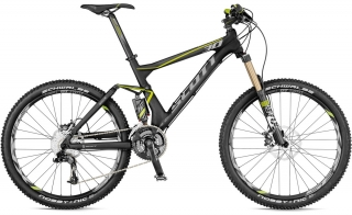 SCOTT GENIUS 30 MOUNTAIN BIKE 2012 - FULL SUSPENSION MTB
