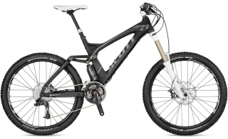 SCOTT GENIUS LT 20 MOUNTAIN BIKE 2012 - FULL SUSPENSION MTB