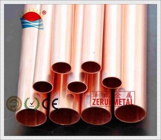copper tube conform to EN 12735-1, CE certified