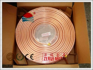 50ft pancake coil according to ASTM B280 standard