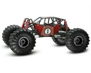 R1 Rock Crawler Buggy Kit Clear Body Panels