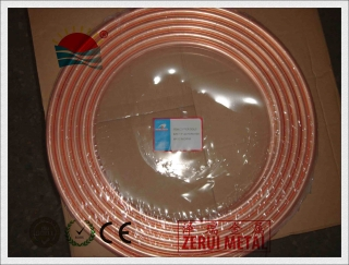 copper pancake coil for air conditioner and refrigeration