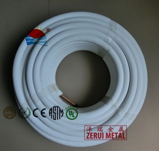 50m insulated copper tube, UV resistant