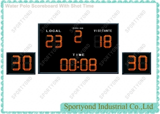 Water Polo Scoreboard Electronics And Shot Clocks