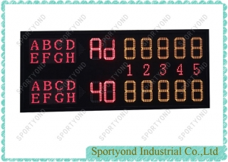 Tennis Electronic Scoreboard for Tennis Courts