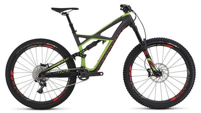 2016 Specialized S-Works Enduro 650B Mountain Bike AXARACYCLES