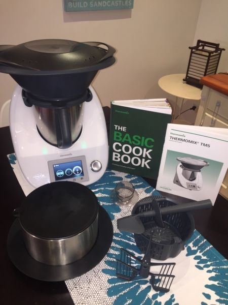 BRAND NEW SEALED THERMOMIX TM5 MADE IN GERMANY COME WITH TWO YEAR WARRANTY
