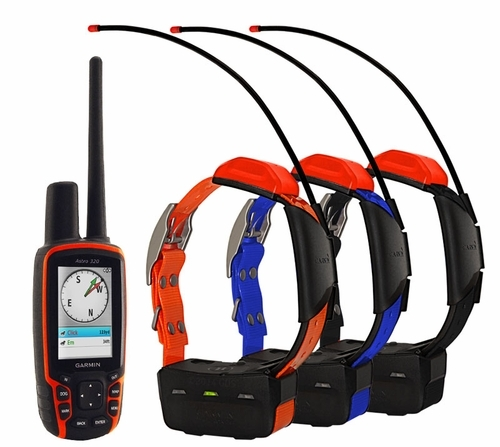 Garmin Astro 320 Handheld with 3 T5 Collars Cost $510 USD