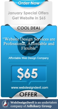 Get Website in $65 Affordable Web Design Company