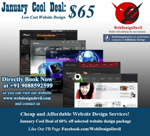 Cheap and Affordable Website Design Services!