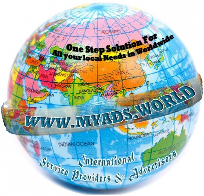 Myads.world - International Service Providers  Advertisers And  Post Free Ad