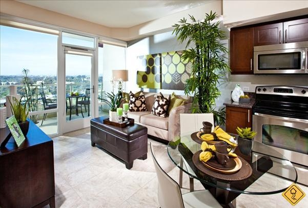 2 bedrooms at vantage pointe apartments san diego for rent