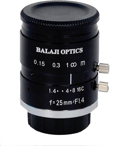 BALAJI OPTICS | C MOUNT MACHINE VISION LENS | MACHINE VISION |  USA