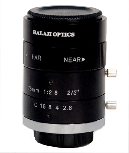 BO LENSES | BALAJI OPTICS | MACHINE VISION LENS |  USA