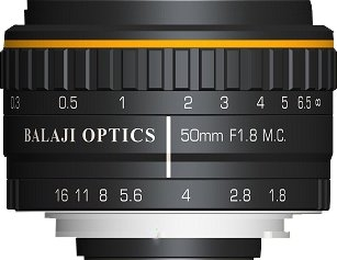 BALAJI OPTICS | 50 MM F-MOUNT LENSES | 35 MM F MOUNT LENS |  USA