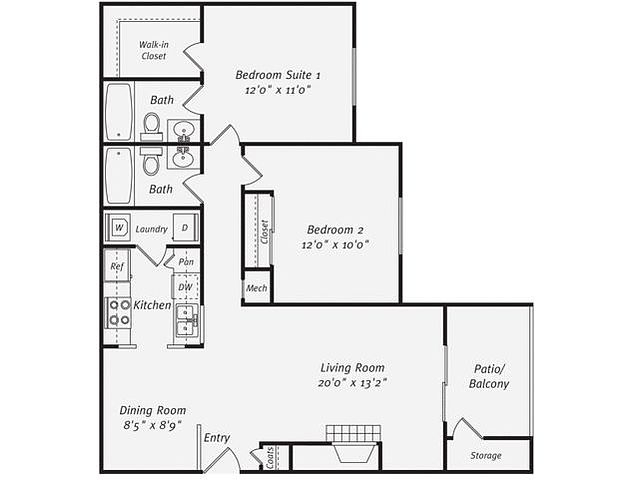 $2,550  2 bedrooms - Great Deal. MUST SEE. Parking Available!