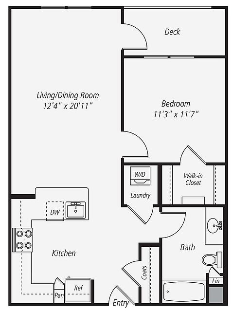 1 Bedroom Apartment In Dublin Dublin For Rent Bakersfield Real Estate Apartments