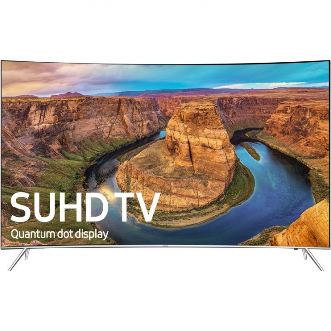 Samsung KS8500-Series 55-Class SUHD Smart Curved LED TV