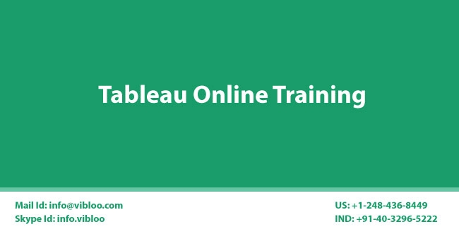Tableau AdminDeveloper Online Training