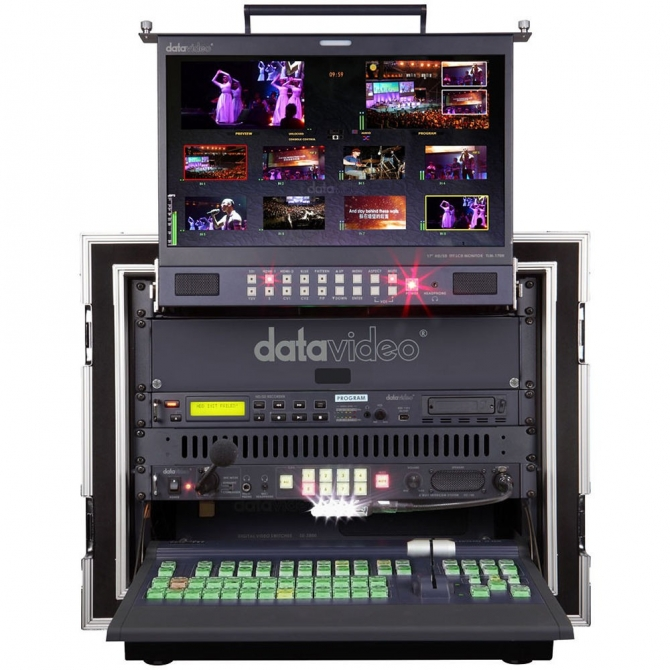 Datavideo MS-2800A 8-Channel HDSD Mobile Video Studio Bundle